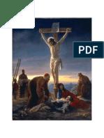 يسوع المصلوب - للمتنيح القص منسى يوحنا