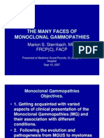 The Many Faces of Monoclonal Gammopathies