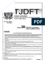TJDFT - Prova - Técnico