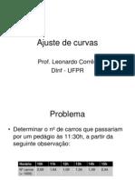5 - Ajuste de curvas