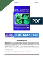 Ilmu Kelautan, Indonesian Journal of Marine Sciences