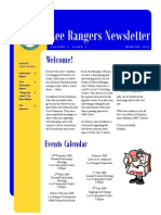 Lee Rangers Newsletter (volume 1 issue 2)