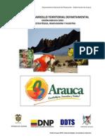 Vision de Desarrollo Territorial Arauca 2032