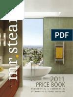 MrSteam - Price Book 2011
