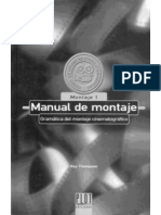 Manual del montaje Cinematografico +Roy+Thompson