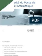 Protéger les données et le Poste Informatique