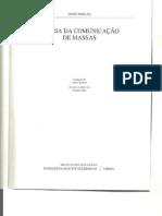 TEORIA DA COMUNICAÇÃO DE MASSAS, McQUAIL  Cap 1-3