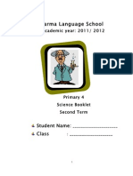 Science Second Term Booklet