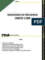 Variadores de Frecuencia Unico 1100 (Tda)