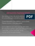 ESTADOS PARANOIDES