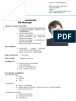 A.rozumenko CV