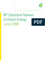 BP Energy Review 2008