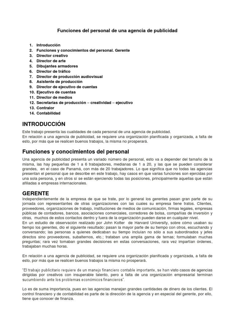 Encantador Director De Publicidad Resume Colección de Imágenes ...