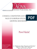 Mushroom Chem. Composition 2012