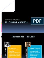 El problema de la physis en los filósofos griegos