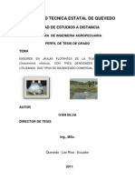 Proyecto Tilapias en Jaulas