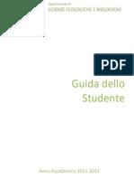 Guida Dello Studente Aa 2011 12