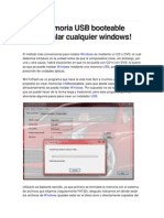 Botear Windows Desde Usb