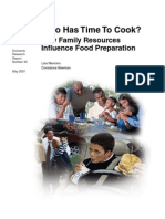 Who Has Time to Cook? How Family Resources Influence Food Preparation