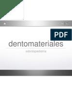 Parte 1 dentomateriales