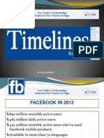 Timelines for Facebook Pages
