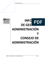 Informe de Gestion 2011-2012