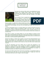 Le Filet Licol Ethologique Cheval Libre