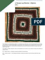 Square Navajo Blanket