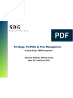 Strategy, Portfolio & Risk Mgmt
