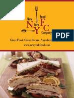 Nyfc Drop Off Catering