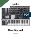 Synthix User Manual