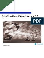 86606 Bi 1003 - Data Extraction - V2