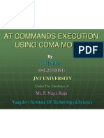 At Commands Execution Using CD Ma Mobile