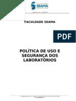Politica de Uso e Seguranca Dos Lab Oratorios
