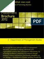 PlacementBrochure2011_DOMS_IITRoorkee