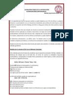 Convergencias Acomodativa Acomodacion (CAA)