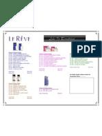 New Le Reve Price