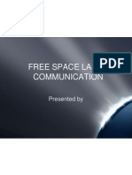 Free Space Laser Communication