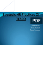 HR Practices of TESCO