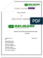 18312486 Final Religare Report