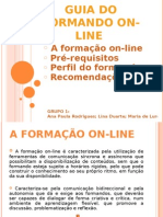 Guia Do Formando on-line