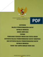 Himpunan Ketetapan MPR