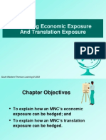 Managing Economic Exposure and Translation Exposure