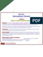 Lecture2 Semiconductor Statistics