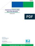 Fertilizer Sector Review May 2009