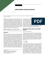 Present and Future of Surface Plasmon Resonance