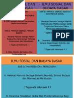 Ilmu Sosial Budaya Dasar Utk Kuliah 2012