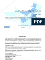 China Pharmaceutical Raw Materials Mfg. Industry Profile Cic2710