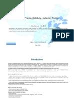 China Printing Ink Mfg. Industry Profile Cic2642