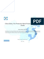 China Safety Fire Protection Metal Products Mfg. Industry Profile Cic3453